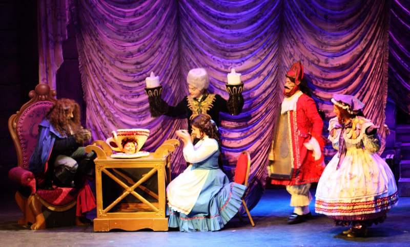 Broxbourne Disney's Beauty and the Beast January 2011