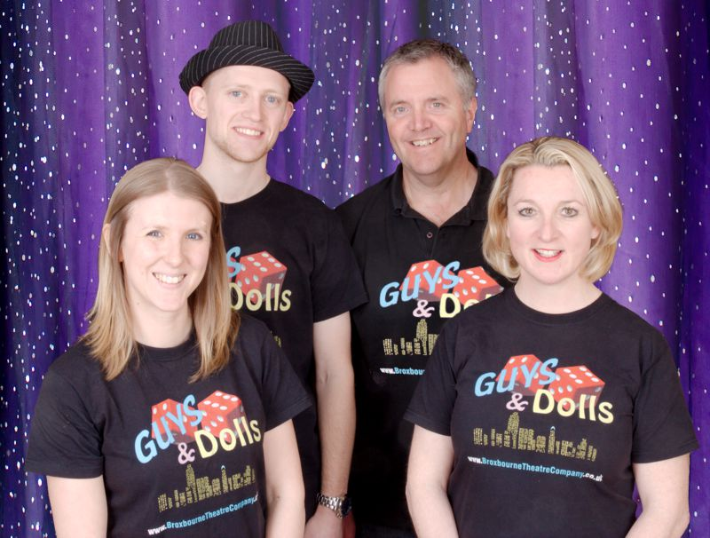 Principals in Guys and Dolls Broxbourne