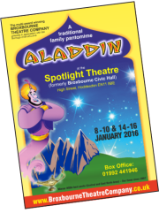 Aladdin                                     leaflet