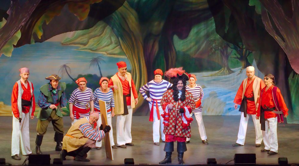 The Pirates -- Peter Pan the Pantomime -- Broxbourne