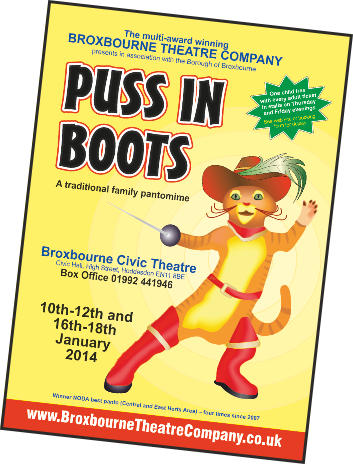 Broxbourne Panto Puss In Boots