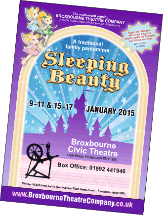 Sleeping Beauty Leaflet